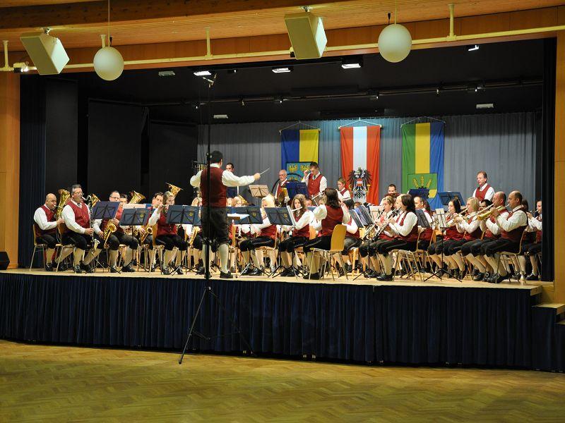 Der Musikverein bei der Konzertmusikbewertung 2010