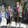 Posaunenquartett beim Kammermusikwettberb in Reichenau/Rax. v.l.n.r.: Michael Franzl, Marion Eibl, Johannes Kornfeld, Niki Bernhart